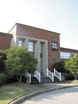U.S. Pipe's corporate office is on the market.