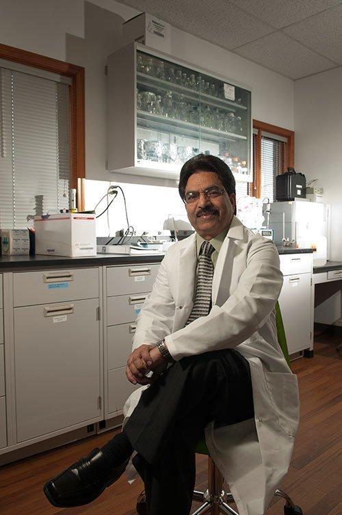 Budget cuts could impact Birmingham biotech firms like Raj Singh's Vivo Biosciences.