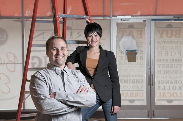 David and Andrea Snyder are working toward opening their second location of Urban Cookhouse at the Summit.