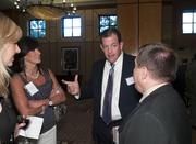 Vision Security Technologies' Jamie Nolen, Terri Holland, Jeff Holland and Del Deason.
