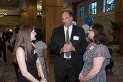 M-Power Ministries' Bethany Rushing, John Bryan and Lisa Bryan.