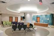 The ER waiting room at Children's Hospital.