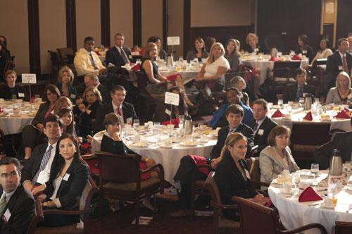 About 200 people attended the BBJ's first Corporate Counsel Awards on Sept. 20 at the Harbert Center.