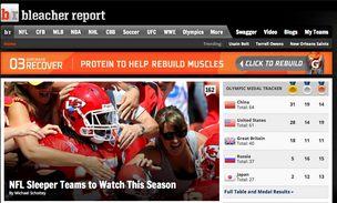 Turner Broadcasting System buys Bleacher Report for $200 million.