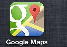Google Inc. launched a Google Maps app for iPhones on Wednesday and it is already the most-downloaded free app in the app store.
