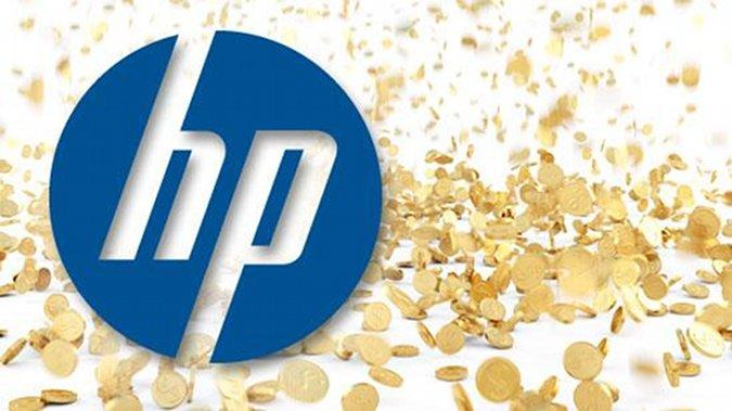 Hewlett-Packard reported lower year-end earnings than some analysts expected.