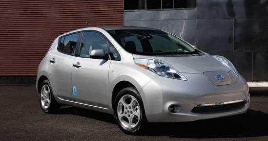 The all-electric Nissan Leaf is now made in Smyrna.