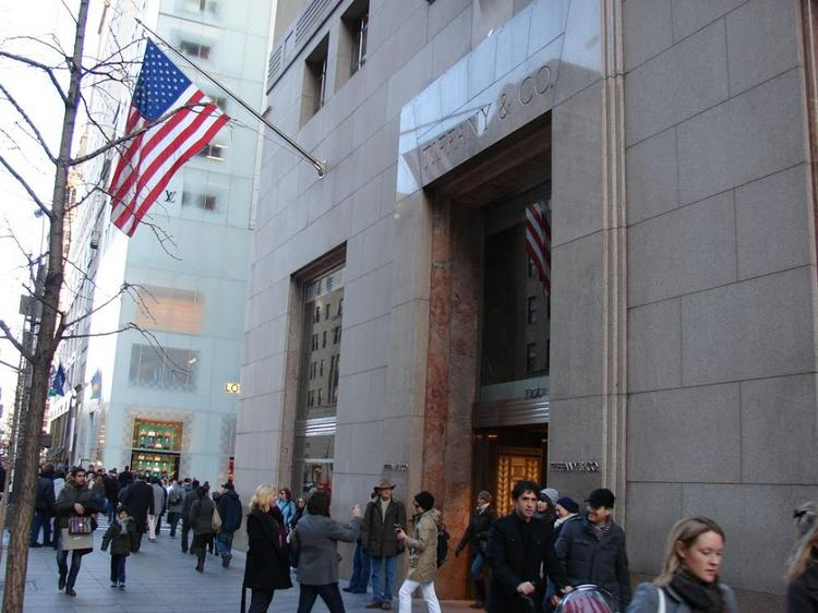 Tiffany & Co.'s store at 200 Fifth Ave.