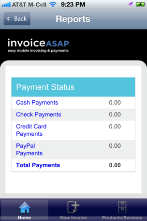 Invoice ASAP app for Apple devices