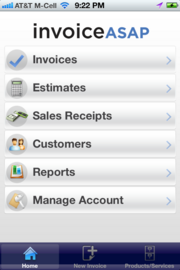The ability to send invoices from mobile devices makes Invoice ASAP a good tool for small business.