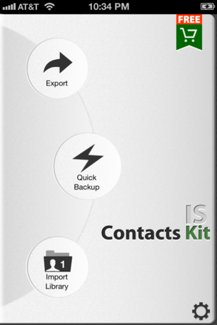 IS Contacts Kit app