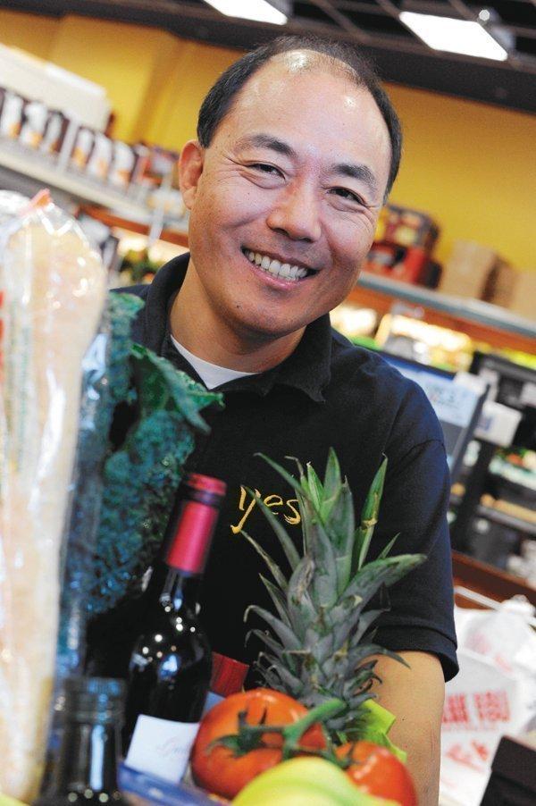 Gary Cha of Yes! Organic Market Inc.