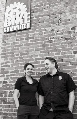 Naihama and Eric Deady opened The Bike Commuter, a Portland retail shop, in 2010 after getting small-business counseling.