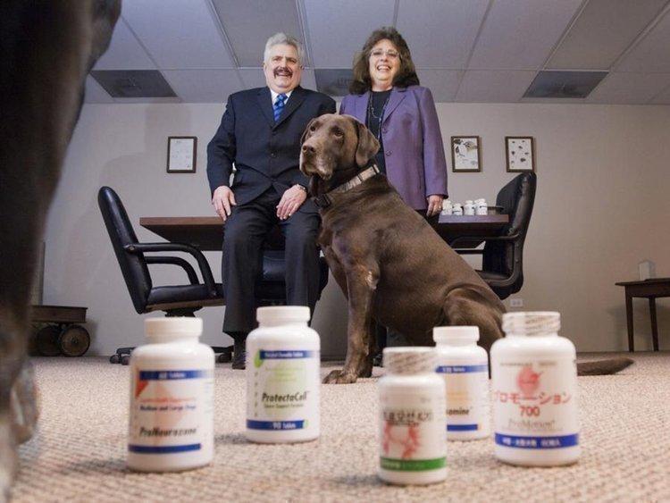 Neal and Teresa Lynch of Animal Health Options.