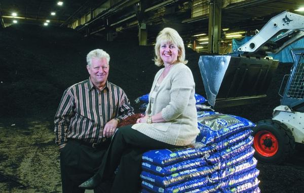 Mike and Cindy Miller of International Mulch Co.