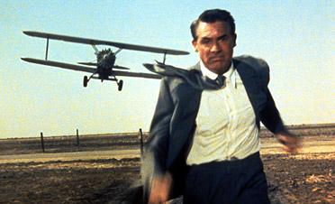 """Cary Grant in """"North by Northwest"""""""
