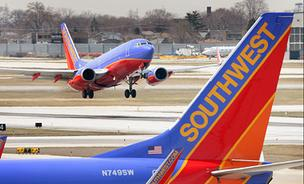 Southwest's traffic and capacity fell in May.