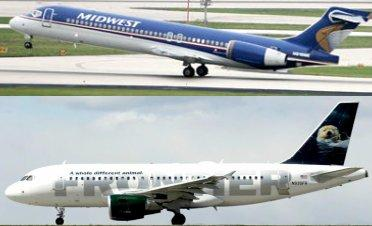 Frontier Airlines and Midwest Airlines are now under one corporate umbrella. So, the big question remains, what name will the company take on?