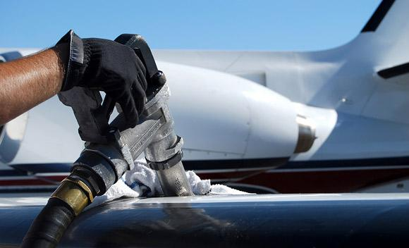 Airlines spend at least 35 percent of their operating budgets on energy costs.