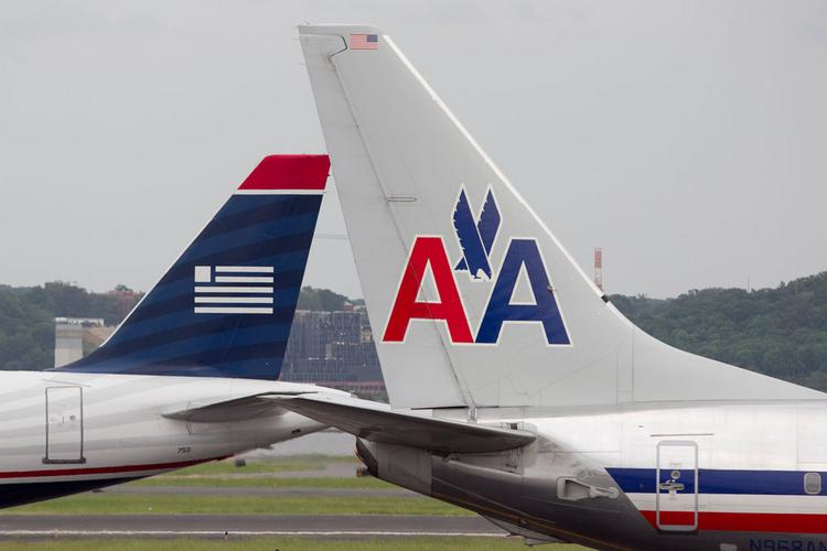 The combined American Airlines-U.S. Airways would hold the No. 3 spot at Kansas City International Airport in terms of market share.