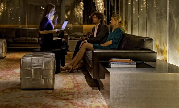 The roving check-in at Hyatt's Andaz hotels bypasses the front desk.