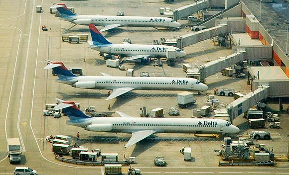 Atlanta's Hartsfield-Jackson International airport, Delta's hub, is the nation's busiest airfield.