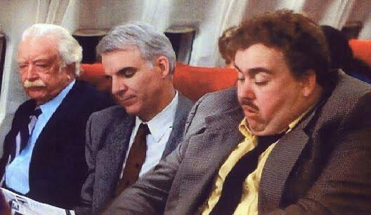 According to one survey, apparently business travelers yearn to meet a clumsy, chatty,  no-boundaries-observed seatmate like John Candy's Del Griffith in Planes, Trains and Automobiles.