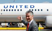 When United Airlines merged with Continental Airlines, the combined airline kept United's name while Continental's top executives—led by Jeff Smisek—took over control.
