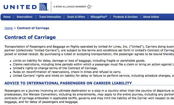 Do you ever read the fine print when you buy an airline ticket?