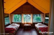 The budget-friendly Macal River Camp at Chaa Creek takes camping to a whole new level.