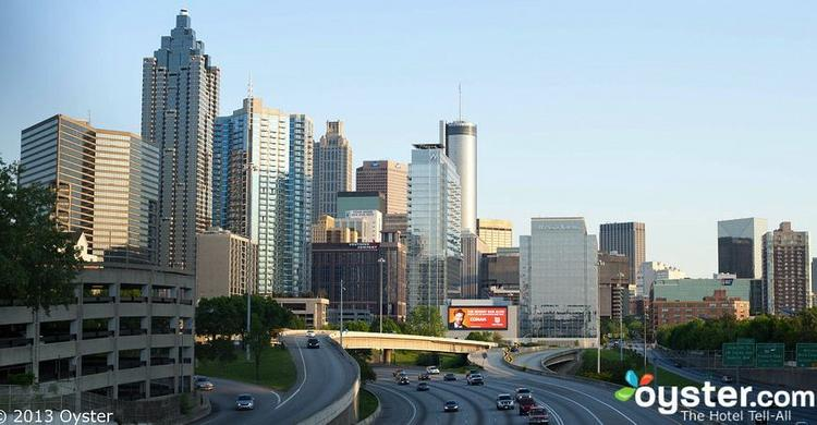 Atlanta's downtown is home to the city's cultural, financial and sports destinations.