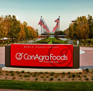 ConAgra Foods' management said the acquisition of Kangaroo Brands' pita chip business is consistent with its strategy to grow its presence in private label foods.