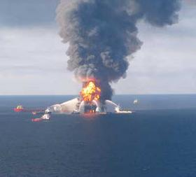 The Deepwater Horizon oil spill had lasting impact on the Gulf of Mexico's food chain.