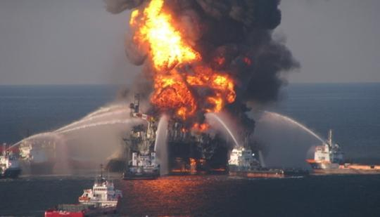 Halliburton is subject to fines of as much as $200,000 for destroying evidence relating to the Gulf of Mexico oil spill, federal officials said.