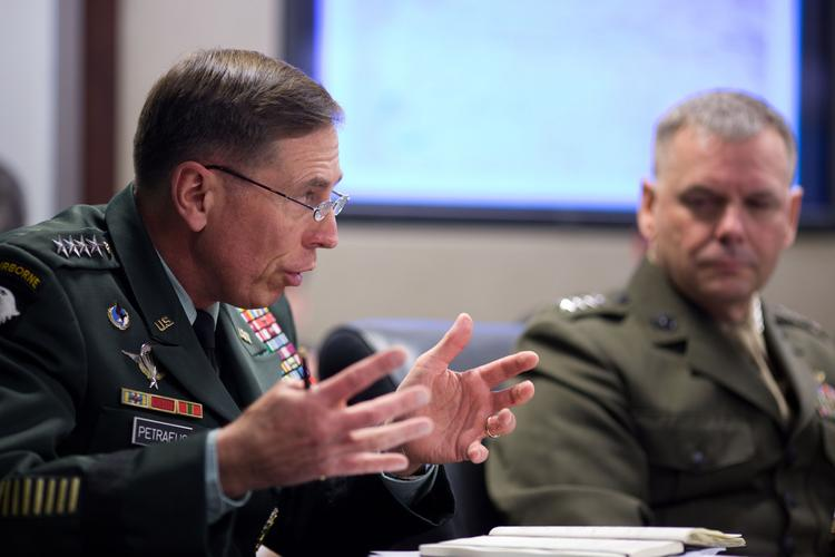 David Petraeus, a retired four-star general, could make it in corporate America, three experts say.