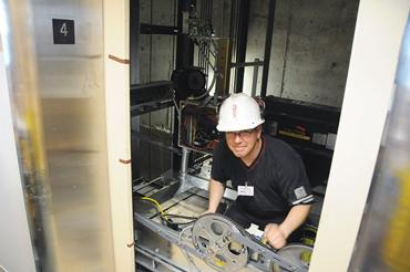 The average salaries for elevator installers and repairers are above $80,000 in 10 states, led by Mass. at $94,880 and Calif. at $89,800, according to newly released figures from the U.S. Bureau of Labor Statistics.