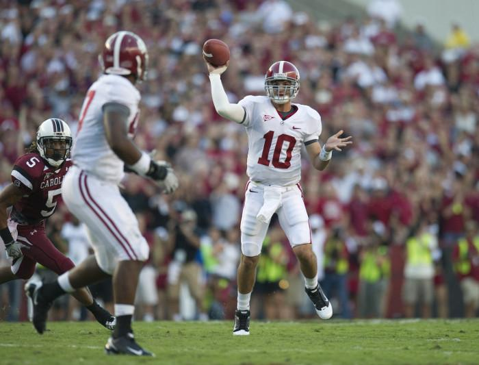 Tuscaloosa, home to the University of Alabama, ranked as the top SEC city for sports fans.
