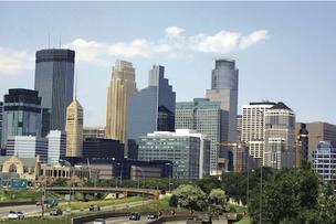 Minneapolis, Minnesota, skyline