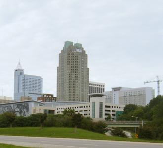 Downtown Raleigh.