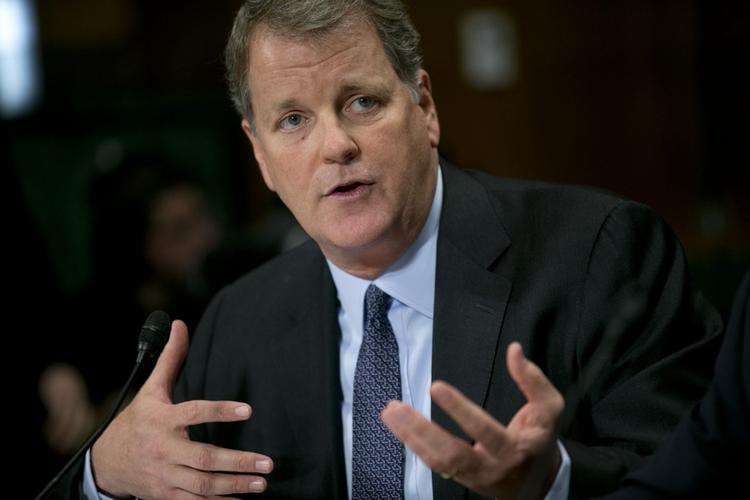 US Airways CEO Doug Parker testified before a Senate subcommittee on Wednesday.