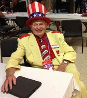 This was the third Republican National Convention for Oscar Poole, founder of Poole's Bar-B-Q in East Ellijay, Ga.