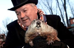 "We don't know whether Punxsutawney Phil will see his shadow Saturday, but we do know that monthly jobs reports are following the plot of the ""Groundhog Day"" movie -- same mediocre numbers, month after month."