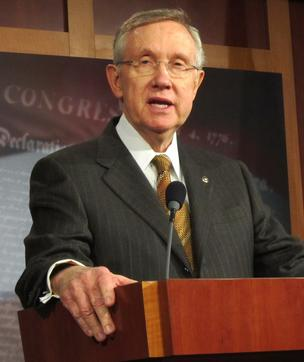 Senate Majority Leader Harry Reid said there's not enough time left before Jan. 1 for Congress to enact legislation to avoid the fiscal cliff.
