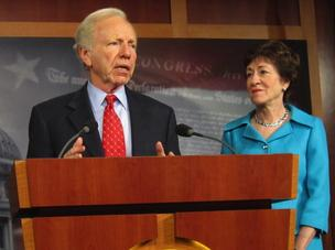 Sen. Joe Lieberman, ID-Conn., and Sen. Susan Collins, R-Maine, think their compromise cybersecurity bill has a good chance of passing the Senate.