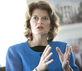 Sen. Lisa Murkowski of Alaska is the ranking Republican on the House Energy and Natural Resources Committee.