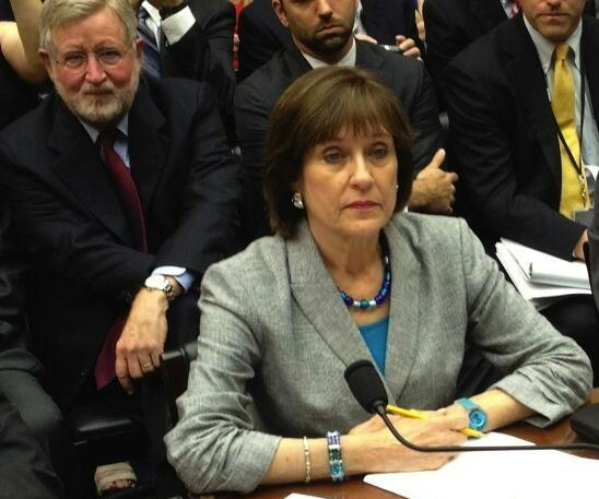 Lois Lerner, who headed the IRS' tax-exempt division, is one of the defendants named in a federal lawsuit filed by conservative groups targeted by the agency.
