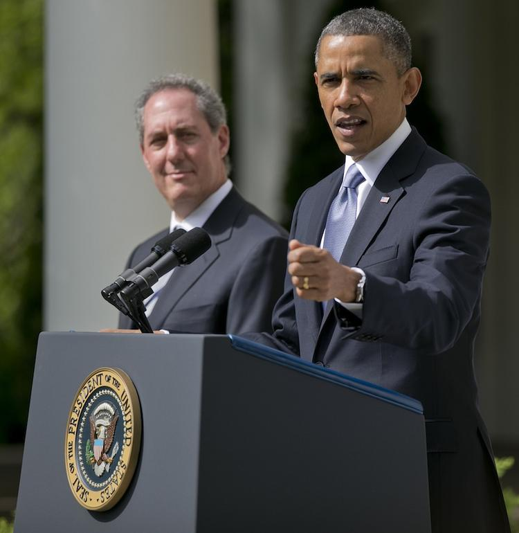 As U.S. trade representative, Michael Froman, left, negotiates and enforces America's trade agreements.