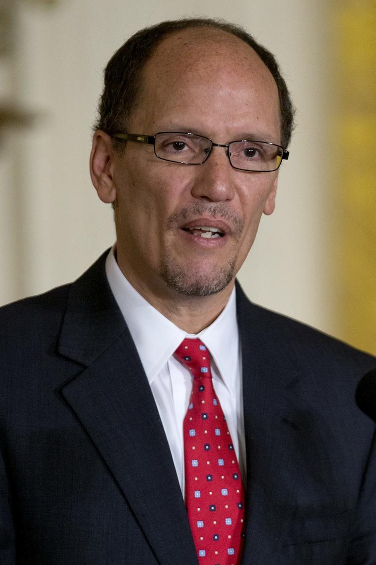 Thomas Perez was confirmed as secretary of Labor on a 54-46 vote.