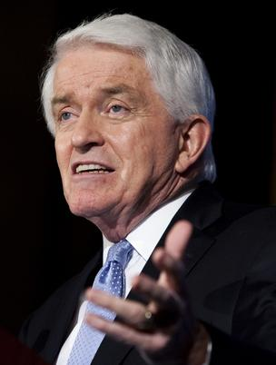 Tom Donohue, president and CEO of the U.S. Chamber of Commerce
