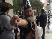 Vermin Supreme wants you to vote for him for president -- he promises free ponies for everyone.